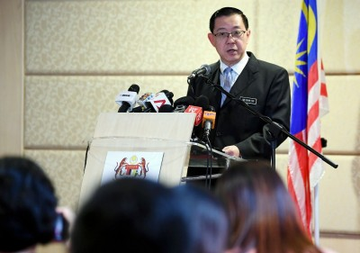 林冠英:针对偿还1MDB债务能力感乐观。(档案照)