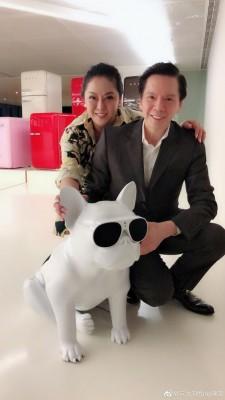 陈岚是香港电影大亨向华强的老婆。
