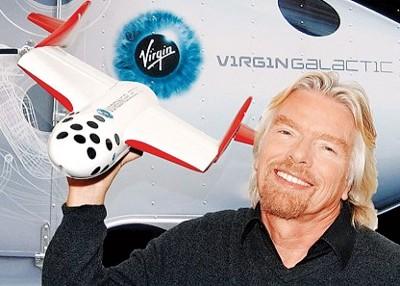 布兰森正积极进行体能及太空人训练,预备漫游太空。