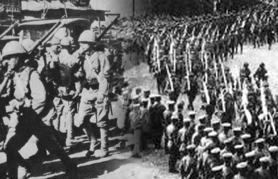 日本发动的侵华战争持续了14年。