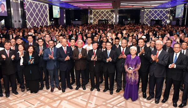 第14届全国大选过后的第一次槟州公务员集会。