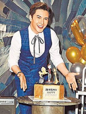 谢佳表现举办生日会,以及粉丝提前庆39年生日。