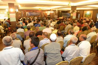 槟州渔民公会常年大会获逾百会员出席,非常踊跃。