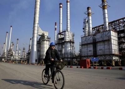 中印为伊朗最大原油进口国。
