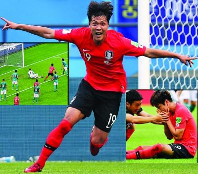 韩国胜利功臣金英权哭了。