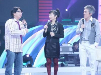 张宇(右)、袁惟仁(左)曾在陶子主持的《最佳星光大道》当评审,打不少话题。