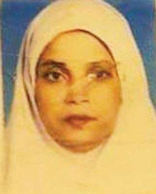 女性死者莫哈穆达。