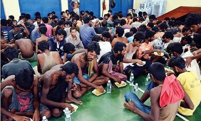 """孟加拉外劳须缴付高达2万令吉的中介费才来到大马""""淘金"""",但真正的""""金主""""已从中捞取了20亿令吉的暴利。"""