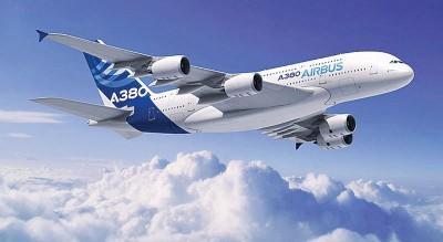 图为同款的新加坡航空A380客机。