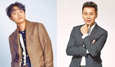 吴青峰(左)和陶喆将担任金曲颁奖人。