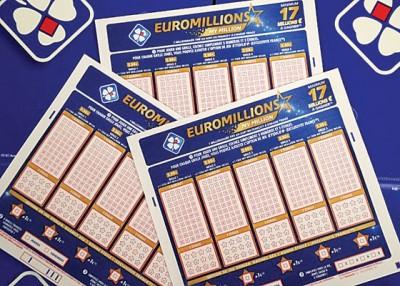 欧洲百万彩每周两次在12国开彩。