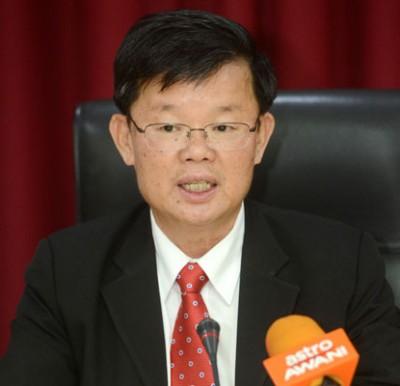 槟州首席部长曹观友宣布,槟州政府批准将爱情巷50号产业交给宗联委接管。