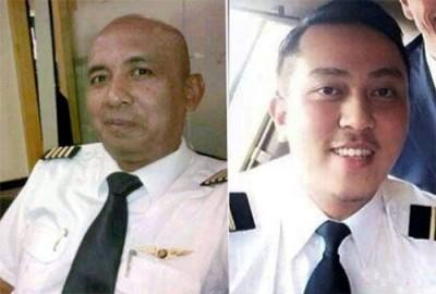 马航失联飞机机长扎哈里(53岁)(左)和副机长法里克(27岁)。