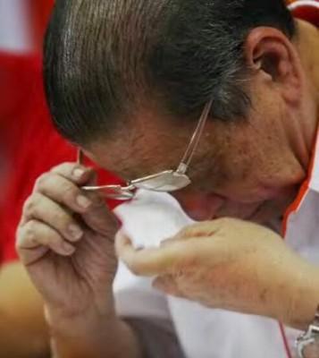 林吉祥说,他不为纳吉哭泣,而是为马来西亚而流泪!(档案照)