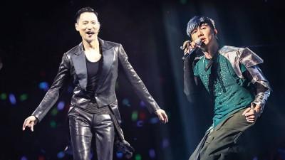 张学友(左)、林俊杰再次回马开唱,乐迷很有耳福。