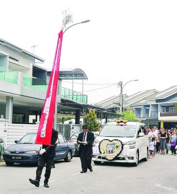 跳楼自杀的女教师刘洁玫周日举殡。