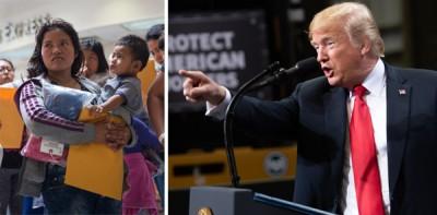 特朗普状告许多非法入境者利用子女上邪恶目的。