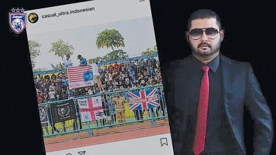 柔佛王储东姑依斯迈要求大马足总针对印尼球迷侮辱大马事件提出抗议。