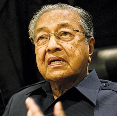 首相敦马哈迪。