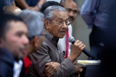 首相敦马哈迪(档案照)。