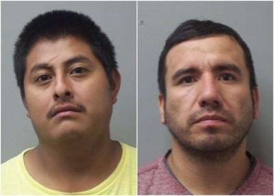 阿吉拉尔(左)及帕洛米诺(右)涉嫌杀人。