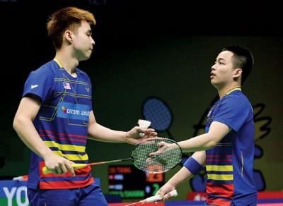 谢定峰/苏伟译在世锦赛首秀取得开门红。