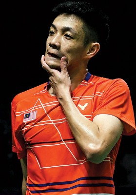 刘国伦败给永乐国际app世界冠军桃田贤斗。