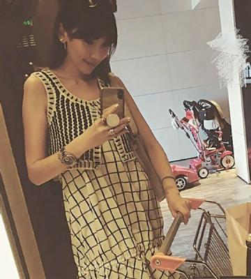陈若仪先前被疑怀孕。