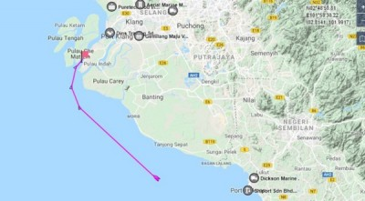 截止上午9时许,根据海事交通网站的追踪系统,平静号在先后航经波德申和丹绒士拔后,目的地是巴生西港。