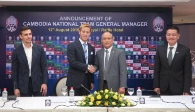 柬埔寨足协宣布本田圭佑成为国家队新任主帅。
