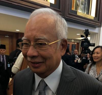"""纳吉认为,倘若刘特佐以非法资金购得""""平静号"""",就需要受到法律制裁。"""