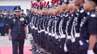弗兹周二出席全国警察总部月度集会。