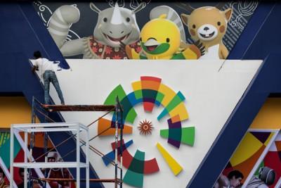 亚运会准备工作进入最后阶段。