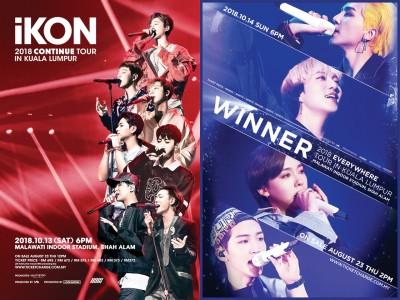 韩国YG房旗下两深组艺人——iKON与WINNER当大马举行演唱会,唯独说是平等宗很可贵的从业。