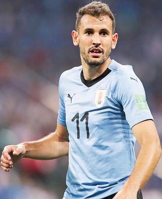 赫罗纳的31岁乌拉圭前锋斯图亚尼,在上赛季西甲联赛出场33次进21球。
