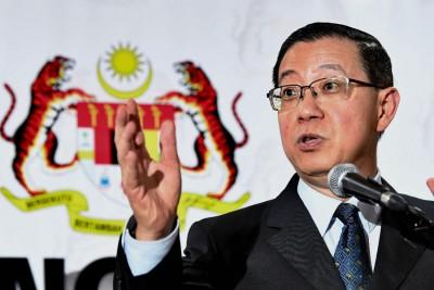 财政部长林冠英宣布,政府这次共发放16亿令吉,约410万人受惠。(档案照)