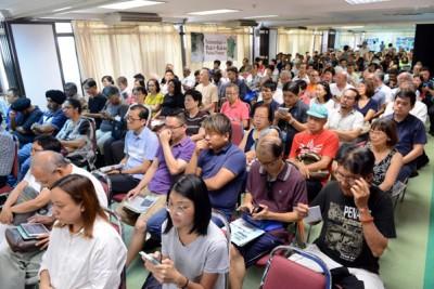 约200名公众出席这活动。