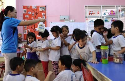 幼儿园发生2宗以上手足口症病例就需要关闭。(档案照)