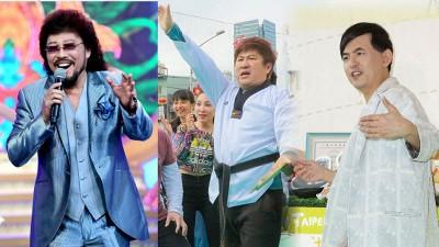 张菲(左起)、胡瓜、黄子佼将争夺本届金钟奖综艺主持人奖。