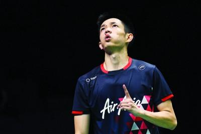 刘国伦希望在团体赛拿下最重要的第一分。