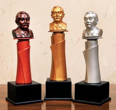 《光华日报孙中山精神奖》各个组别分别有白金奖、金奖和卓越奖。