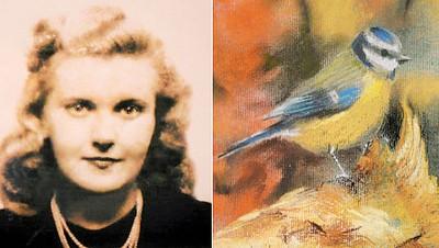 麦克尼尔年轻时已喜欢画画。