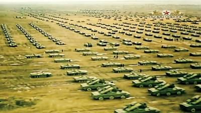 """绍伊古此前苏联的""""西方-81""""军演和将要举行的军演相提并论。"""