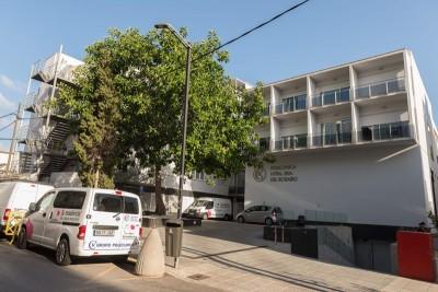 被指是罗纳多治疗呼吸道炎症的西班牙伊比萨岛一间私人医院。