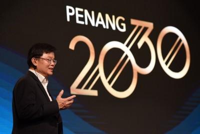 """sw0829c04:""""槟城2030""""要带领槟城成为一个重视家庭及绿化,且能耀眼全国的精明州属。"""