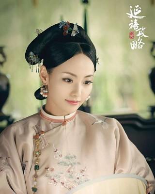 顺嫔张嘉倪终于现身。