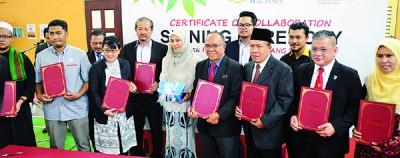 威省工艺学院与9个工业单位签署合作备忘录。