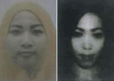萨勒玛(左)及梅莉欣达(右)突然失踪。