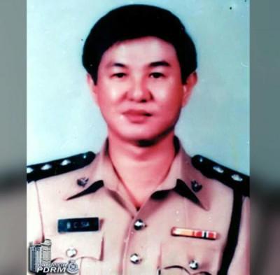 警官拿督谢文志。