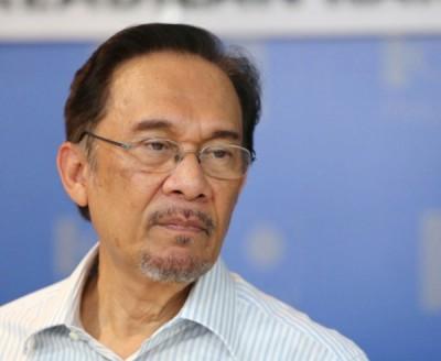公正党候选主席拿督斯里安华。
